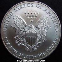 2001 United States Dollar 1 Ounce Silver Eagle