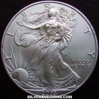 "2003 United States 1 Ounce ""Silver Eagle"" Dollar"