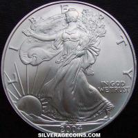 "2004 United States 1 Ounce ""Silver Eagle"" Dollar"