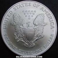 2007 United States Dollar 1 Ounce Silver Eagle