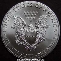 2013 United States Dollar 1 Ounce Silver Eagle