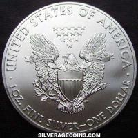 2014 United States Dollar 1 Ounce Silver Eagle
