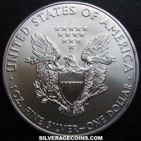 "2009 United States 1 Ounce ""Silver Eagle"" Dollar"