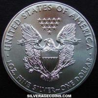 2011 United States Dollar 1 Ounce Silver Eagle
