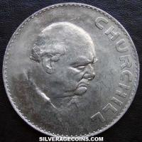 1965 Elizabeth II British Crown (Winston Churchill)