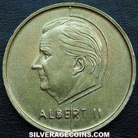 1994 Albert II Belgian 5 Francs (French)