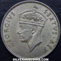 1950 George VI East African Shilling