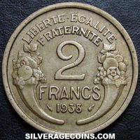 1938 2 French Franc