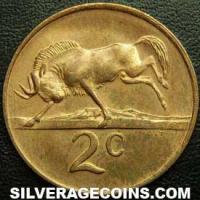 1979 South African Bronze 2 Cents