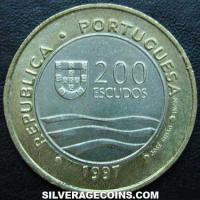 1997 INCM Portuguese 200 Escudos ('98 World Expo)