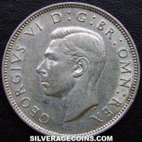1946 George VI British Silver 2 Shillings