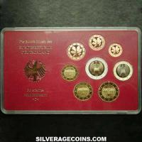 2003 D (8) Proof German Euro Set (Cased)