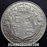 1920-2A George V British Silver Half Crown