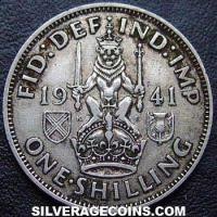 1941 George VI Scottish Silver Shilling