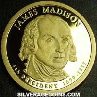 2007 S Proof United States Dollar (James Madison)