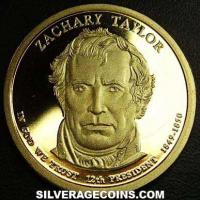 2009 S Proof United States Dollar (Zachary Taylor)