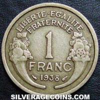 1938 French Franc