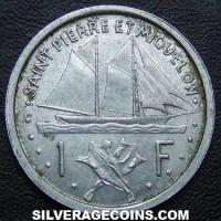 1948 (a) Saint Pierre and Miquelon 1 Franc