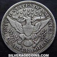 1915 United States Barber Silver Quarter