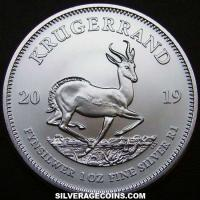2019 South Africa 1 Ounce Silver Krugerrand