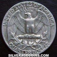 1964 United States Washington Silver Quarter