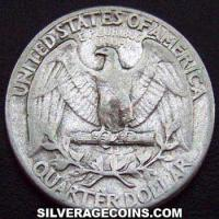 1939 United States Washington Silver Quarter