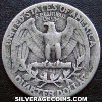 1940 United States Washington Silver Quarter