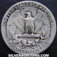 1941 United States Washington Silver Quarter