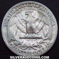 1943 S United States Washington Silver Quarter