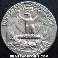 1960 United States Washington Silver Quarter