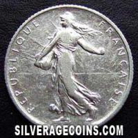 1904 French Silver Franc