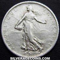 1910 French Silver Franc