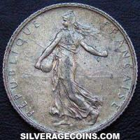 1914 French Silver Franc