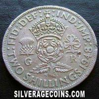 1948 George VI British 2 Shillings (Florin)