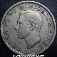 1947 George VI British Half Crown