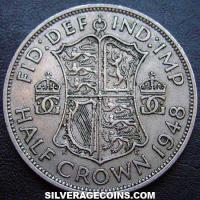 1948 George VI British Half Crown