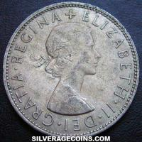 1966 Elizabeth II British Half Crown