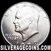 1972D United States Eisenhower Dollar