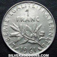 1961 French New Franc