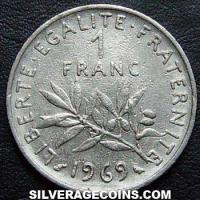 1969 French New Franc