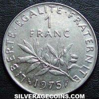 1975 French New Franc