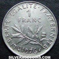 1976 French New Franc