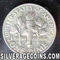 1964 D United States Silver Roosevelt Dime 10 Cents