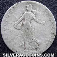 1898 French Silver 50 Cents