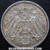 1915 A Wilhelm II German Silver Mark