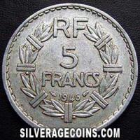 1946 (a) open 9 5 French Francs