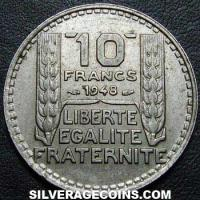 1948 10 French Francs