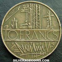 1975 10 New French Francs