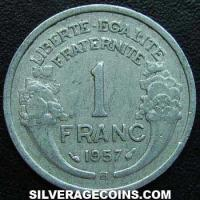 1957 French Aluminium Franc