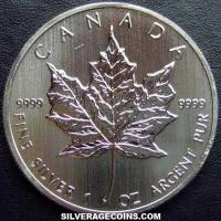 2013 Canadian 5 Dollars 1 Ounce Silver Maple Leaf